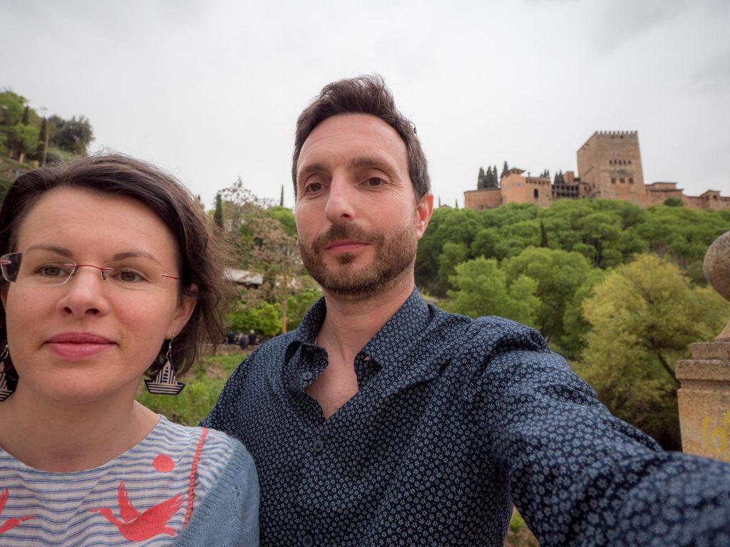 Au pied de l'Alhambra