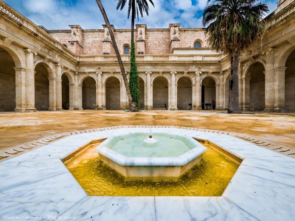 Cloitre de la cathédrale d'Almeria
