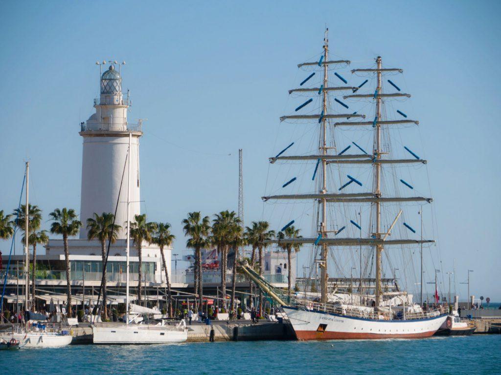 Le port de Malaga