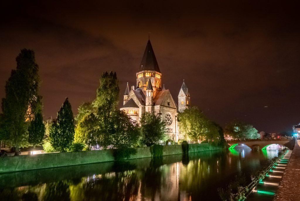 Le Temple Neuf et la Moselle