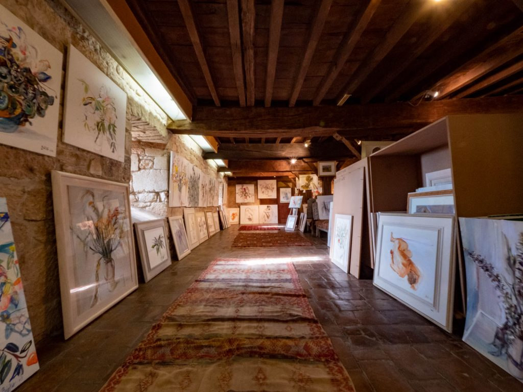 La galerie de l'artiste