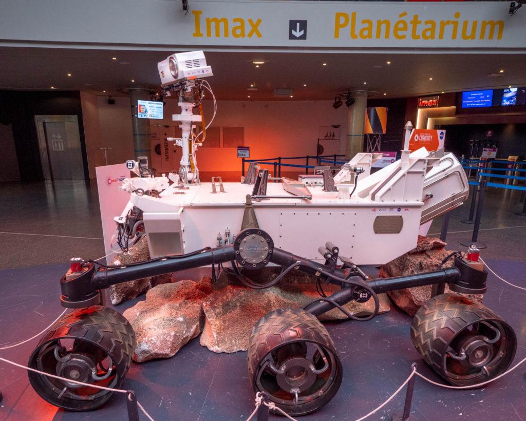 Curiosity, le rover martien