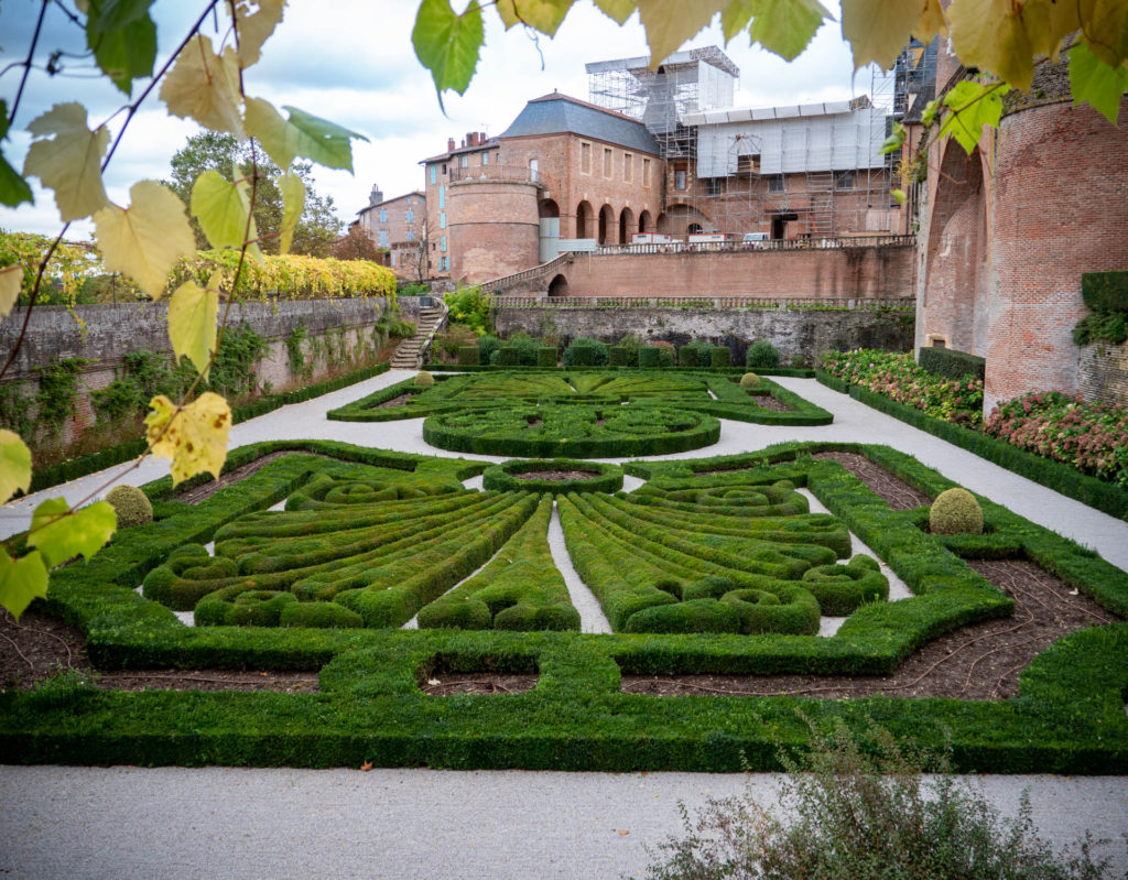 Jardin du Palais de la Berbie