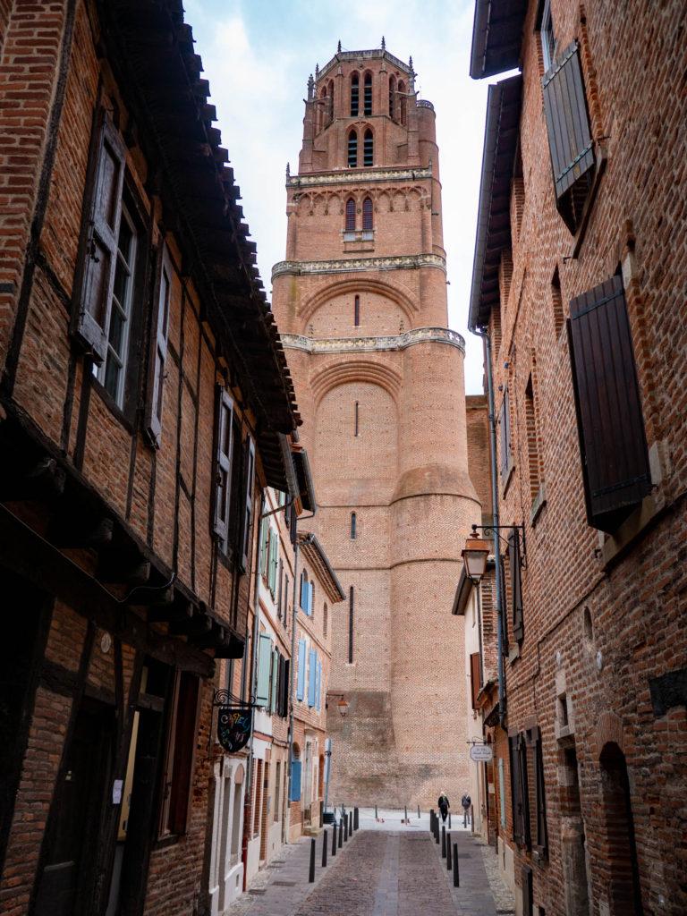 Clocher de la cathédrale Sainte Cécile
