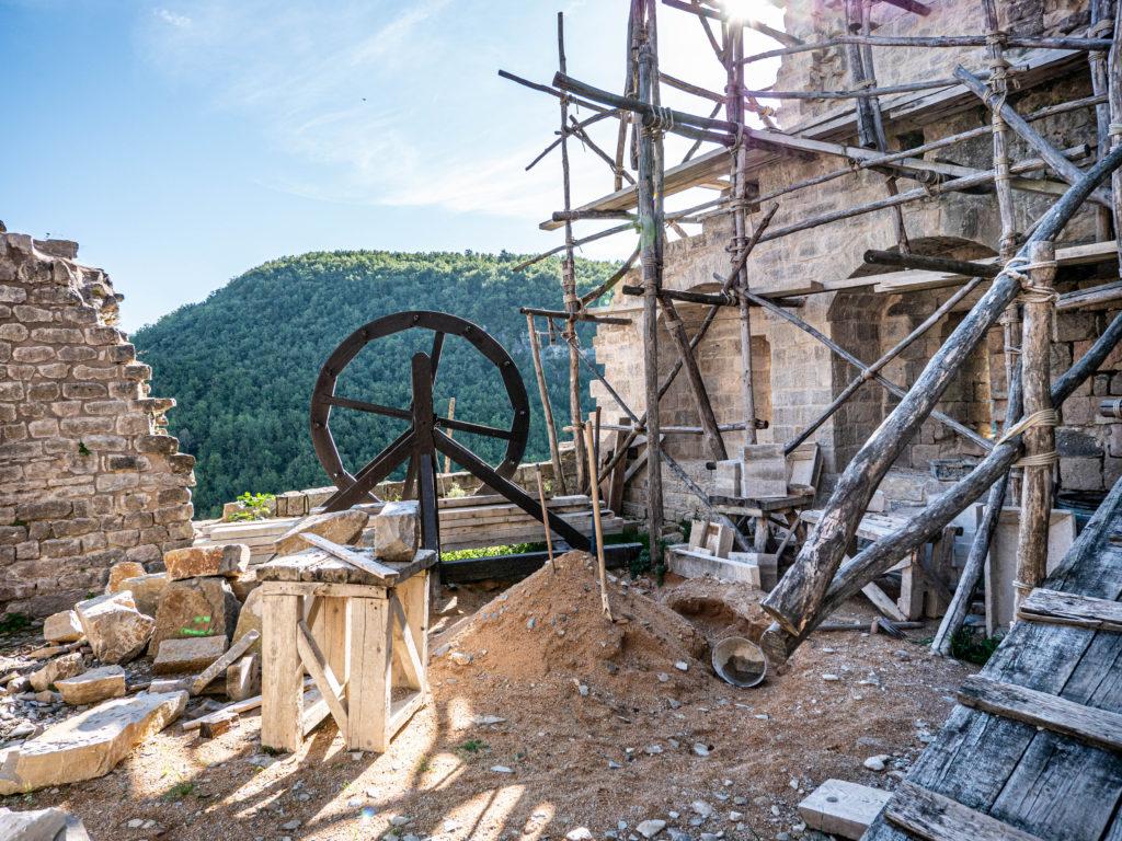 Le chantier médiéval