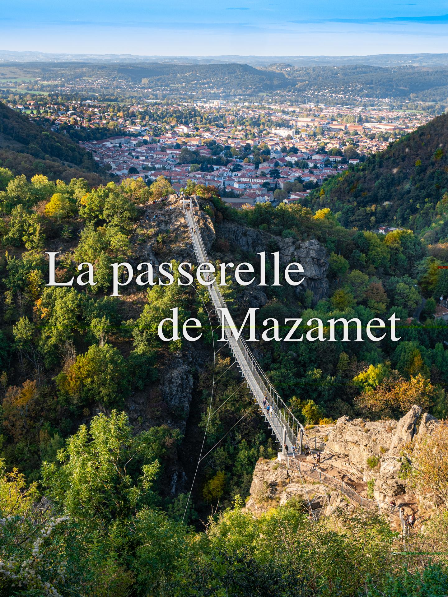 La passerelle de Mazamet