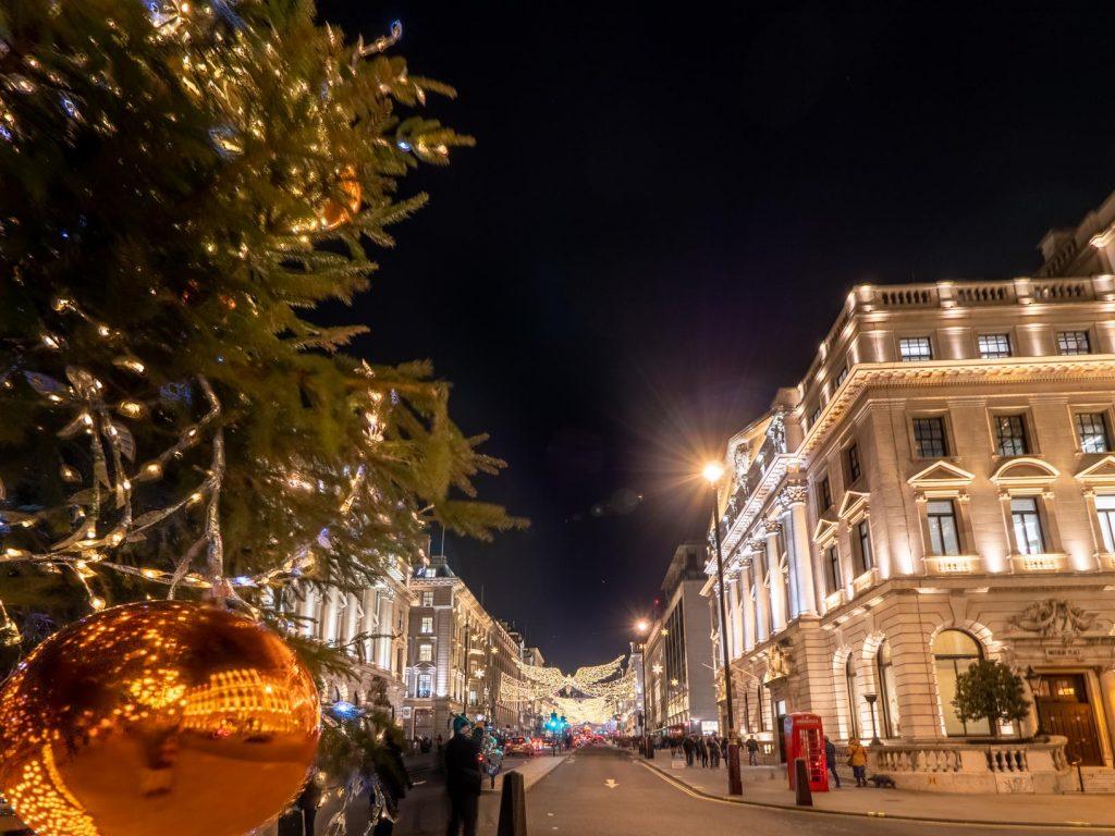 Les anges de Regent Street