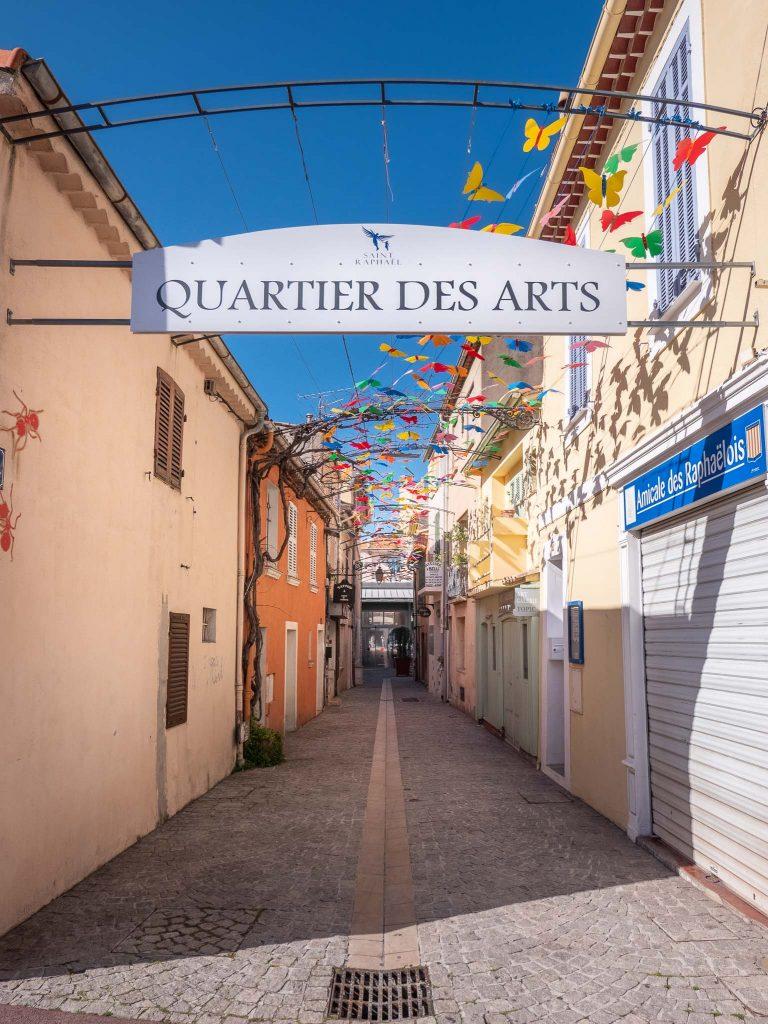 Saint Raphael - rue du Safranié
