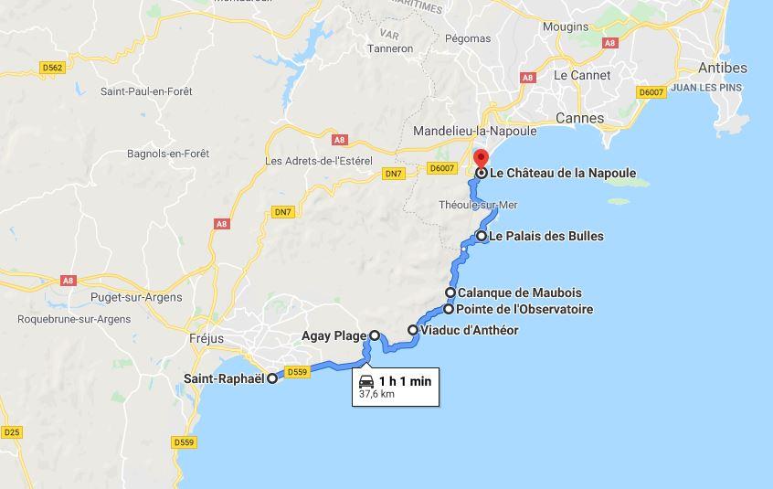 Route de la Corniche d'Or