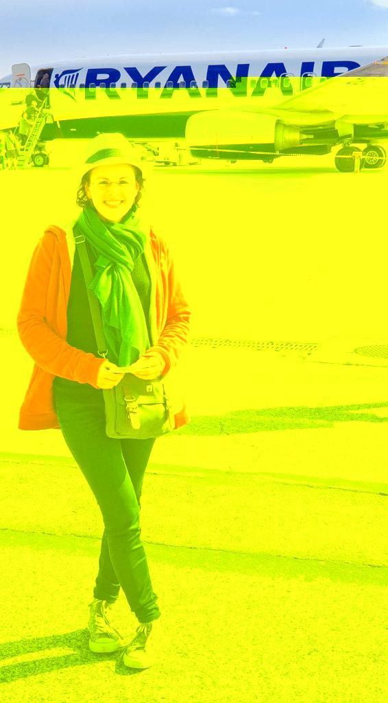 Mon 1er voyage en avion !!