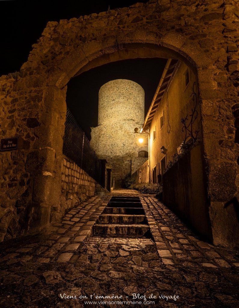 Le donjon de Saint Maurice