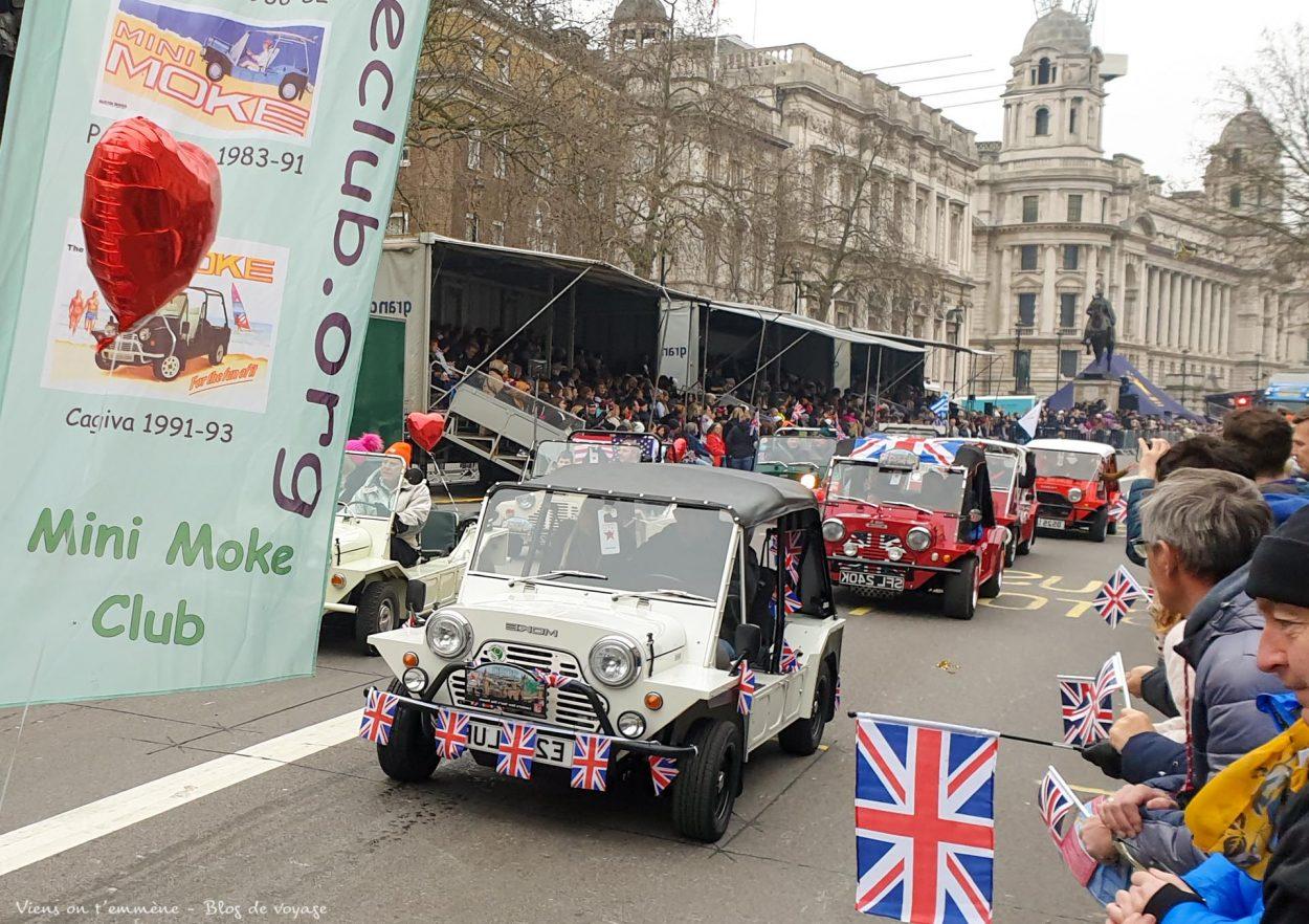 Parade du Nouvel An à Londres