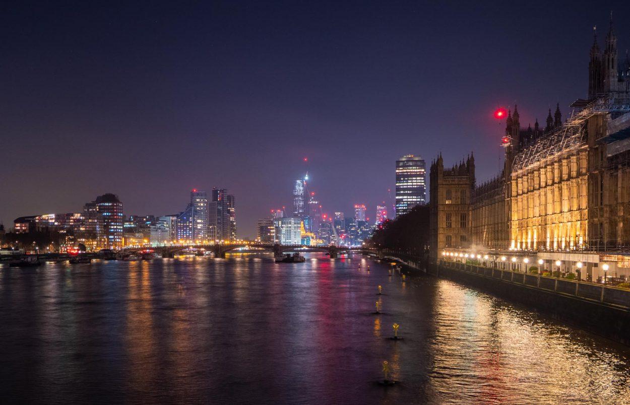 Vue depuis Westminster Bridge